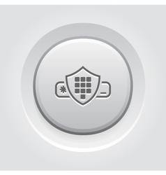 Security code icon vector