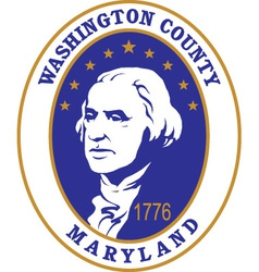 Washington county seal vector image