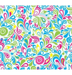 colorful musical background vector image