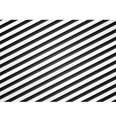 Black and white stripes pattern design vector image