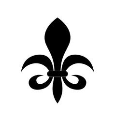 Fleur de lis heraldry symbol vector