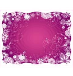 Purple christmas background vector