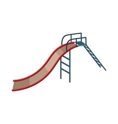 Childrens slide icon cartoon style vector