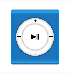 Music playey icon vector