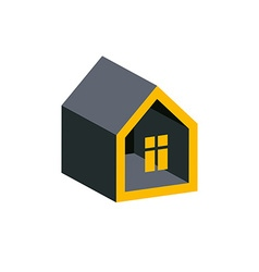 Property developer conceptual business icon real vector