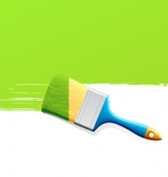 Paintbrush vector