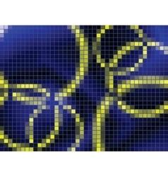 circles mosaic vector image vector image