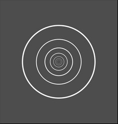 Minimalistic style design golden ratio geometric vector