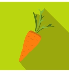 Carrot icon in flat style vector image