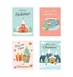Christmas cards 4 vector