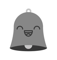 Kawaii bell cartoon vector