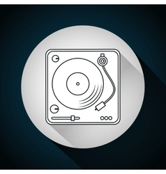 Music technology equipment vector image vector image