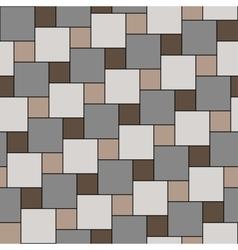 Pastel beige tiles seamless pattern vector