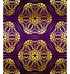 artistic wallpaper pattern vector image vector image