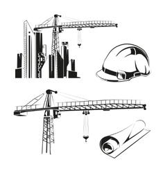 Construction elements vector