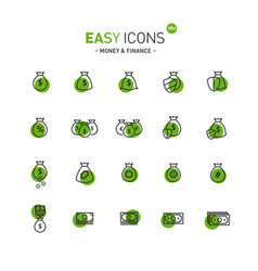 Easy icons 08d money vector