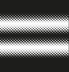 halftone black and white seamless pattern vector image vector image