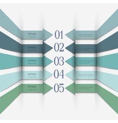 Infographics design variation 1 vector image vector image