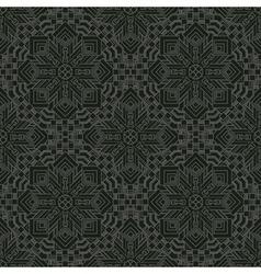 Vintage retro seamless pattern decorative vector
