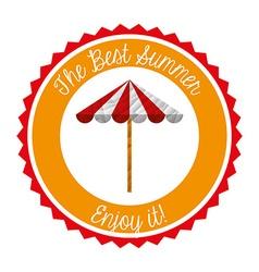 best summer vector image vector image