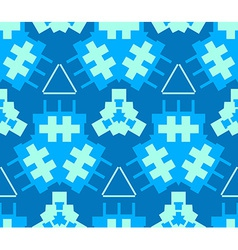 blue cyan light green color abstract geometric vector image