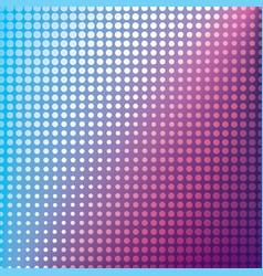 creative halftone pattern design vector image