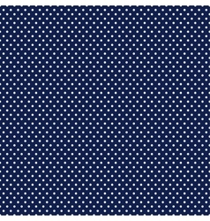 Dotted seamless pattern blue design vector