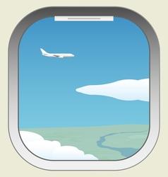 Aircraft illuminator vector image vector image