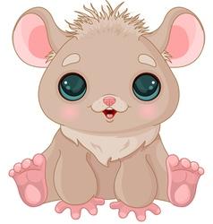 Cute Hamster vector image vector image