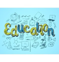 Education icon concept vector