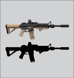 Gun weapons vector