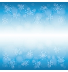 Winter snow or snowflake vector image