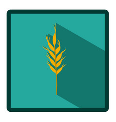 symbol wheat icon image vector image