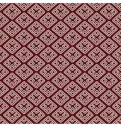 Red ethnic russian seamless pattern pr vector