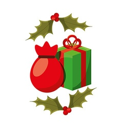 Christmas gifts design vector