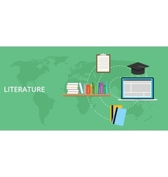 Literature concept and online learning vector