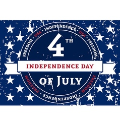 Symbol american holiday independence day vector
