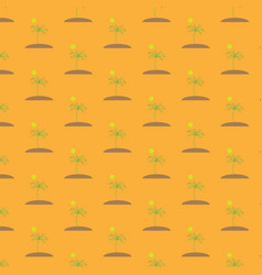 a seamless image of a seamless pattern of green vector image