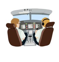 Depicting pilots in an vector