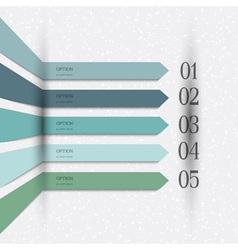 Infographics design variation 2 vector image vector image