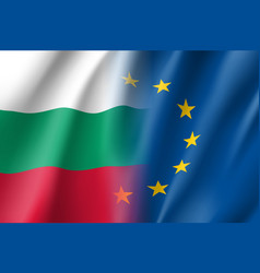 Symbol bulgaria is eu member vector