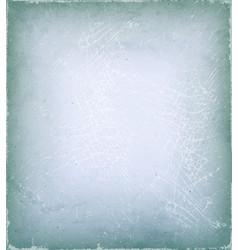 vintage grunge and scratched background vector image vector image