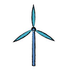 Wind turbine tower energy recycle design vector