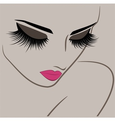 Beauty makeup icon vector