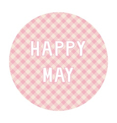 Happy may background4 vector