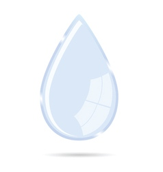 waterdrop icon vector image
