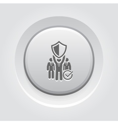 Private security icon vector