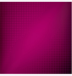 creative pink halftone pattern design vector image