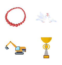 reward sport business and other web icon in vector image vector image
