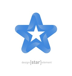 star with Somalia flag colors and symbols vector image vector image